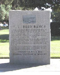 T. L. Reed home and ranch