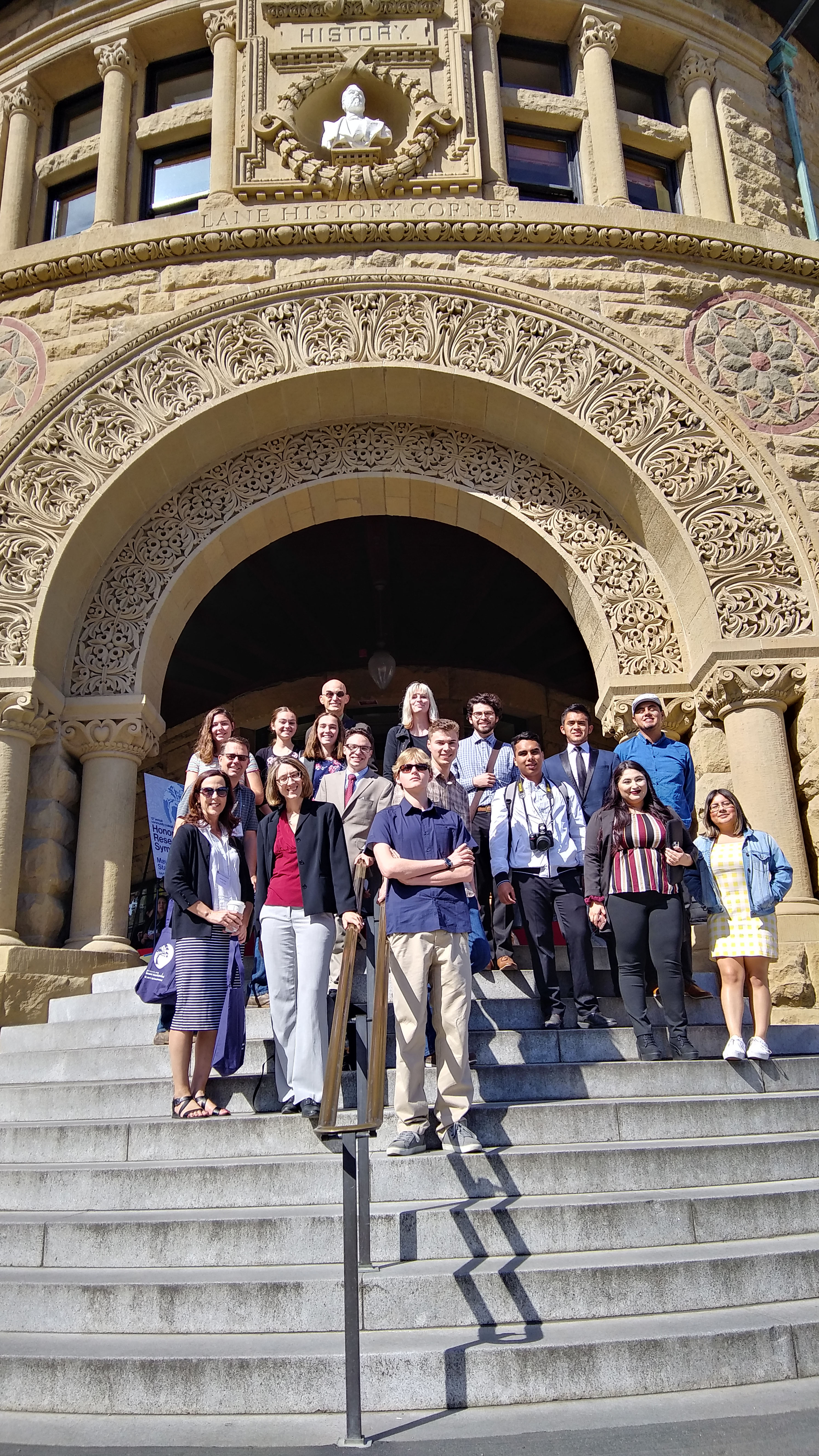 Honors students Bay Area Symposium